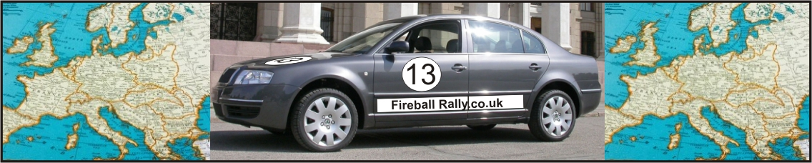Fireball Rally - Logo