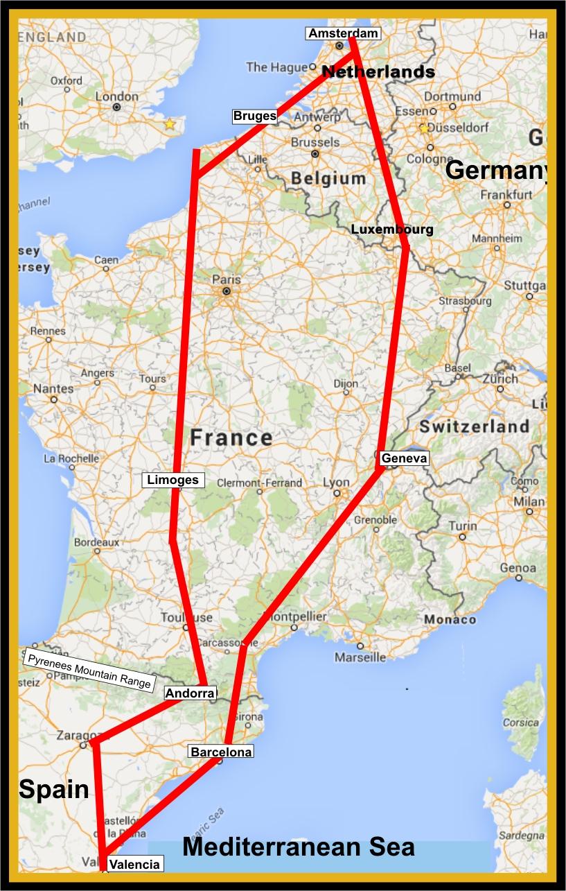 Fireball Rally - Spanish Route 2016